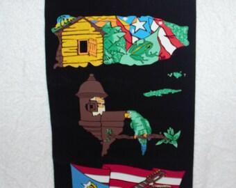 Puerto Rico Wall Hanging/Souvenirs/