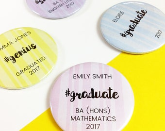 Graduation Pocket Mirror Gift