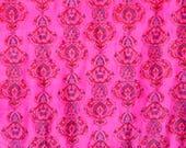 Hot pink silk taffeta w p...