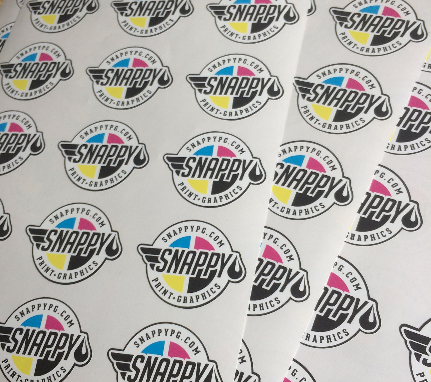 Vinyl Stickers With Your Logo On Them Contour Cut - Custom vinyl stickers logo