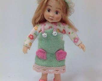 Handmade Miniature Dolls House Girl 1/12th Scale Sculpt
