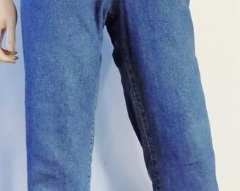 Lee Cooper stretchy boyfriend jeans high waisted womens jeans size 30 inch waist