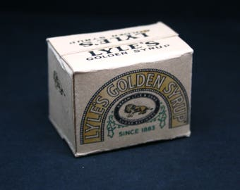 Golden Syrup Stock Box  Dolls House Miniature