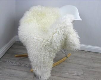 Genuine Icelandic sheepskin rug, single, G454