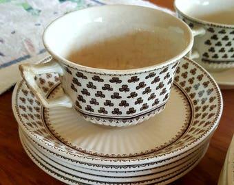 English Ironstone Adams Dinnerware