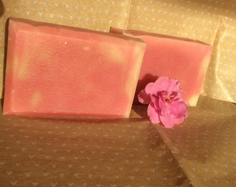 Old-Fashioned Rose Soap