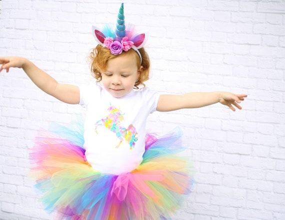 Premium Unicorn Birthday Outfit Unicorn 1st Birthday Outfit