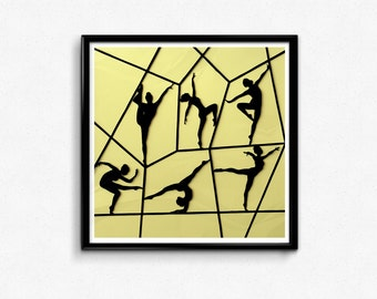 Ballet Print / Ballet Art / Ballerina Art / Ballet Dancer Art / Ballerina Wall Art / Dancer Art / Dancer Wall Art / Ballet Gift / Art Print