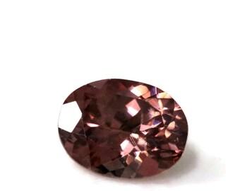 8x6mm Cinnamon Zircon Loose Stone