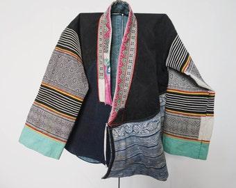 Jacket woman vintage ethnic Miao.