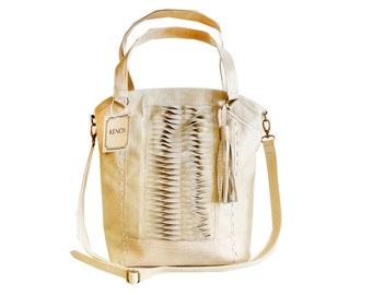 Soft leather tote, crossbody purse, leather tote bag, leather purse, cream leather purse, natural leather bag, crossbody bag, shoulder tote