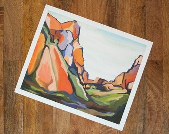 The Window Print | Big Bend Series