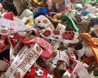 Grab Bag - Hair Tie Grab Bag - Ponytail Grab Bag - Surprise - LuLaRoe Hair Ties - Stocking Stuffer - Christmas Gift