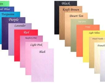 10 SAMPLE Sheets 4 X 6 Or 5 7 Custom Cut