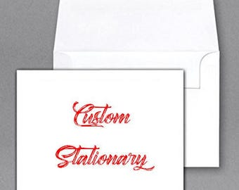 Custom Stationary