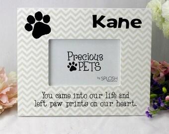 Personalise Pet Memorial Photo Frame