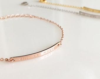 "Shop ""name plate"" in Bracelets"