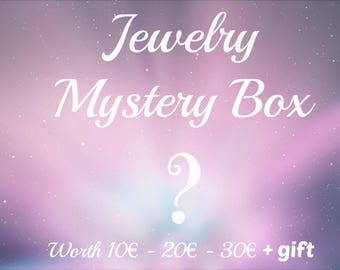 Jewelry Mystery Box. Lucky Dip. Goodie Bag. Surprise Bag.