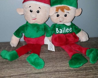 Personalized elf, stocking stuffer, christmas elf
