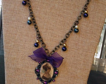 Lovely Vintage Inspired Pendant Necklace