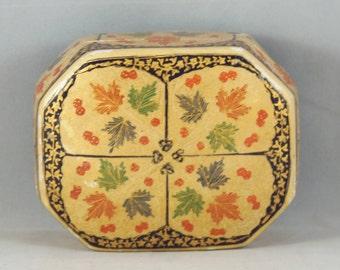 Decorative box made in India, small trinket box