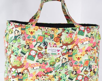 Bag- Fun Japanese Print