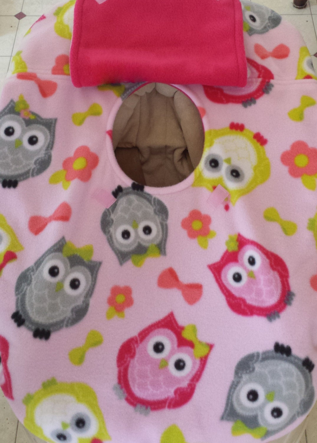 car seat cover owl shabby chic baby free by mamasgotmecovered. Black Bedroom Furniture Sets. Home Design Ideas
