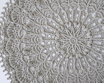 Crochet doily pattern SOL