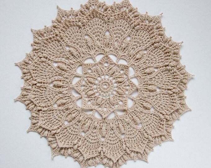 Crochet doily pattern TOVI