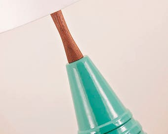 Ceramic Lamp and Shade 243
