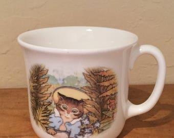 Vintage Royal Doulton Beatrix Potter Tom Kitten Mug
