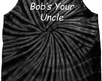 Men's Bob's Your Uncle Tie Dye Tank Top BOB-3500