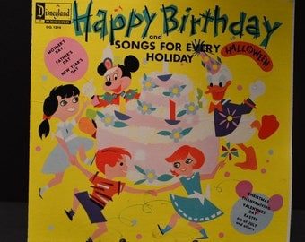 1964 Disneyland Records- Happy Birthday and Songs For Every Holiday