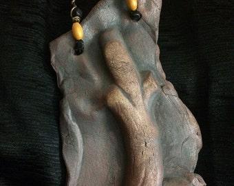 Karma Strings- Tree Series #1, Three Smiling Skulls