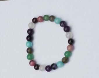 Healing Crystal Bracelet-Confidence/Reiki Jewelry