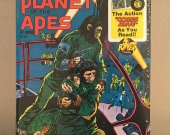Escape From The Planet Of The Apes Record & Book
