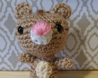Crochet Cat Keychain. Handmade Crochet Animals. Amigurumi Animals.