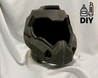 DIY DOOM4 - helmet template for EVA foam