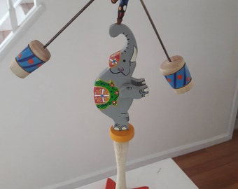 The balance is a Handmade  piece by the toy maker