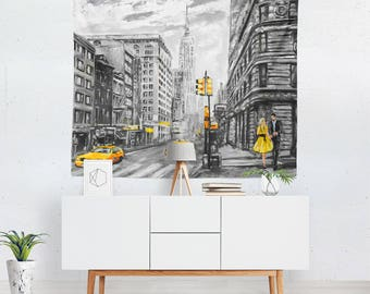 New York City Tapestry | New York City Wall Tapestry | New York City Wall Décor | New York City Tapestries | New York City Wall Art