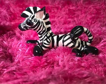 Polymer Clay Zebra