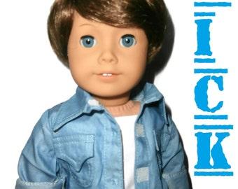 """American Girl Boy Doll Custom 18"""" Boy Doll *Brand New*"""