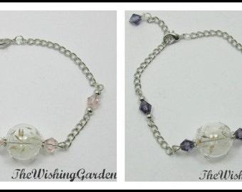 Dandelion Seed Bracelet