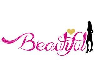 Premade logo design. Women businesses logo. Hair businesses logo.