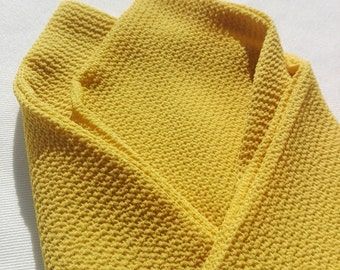 Mustard yellow handkerchief
