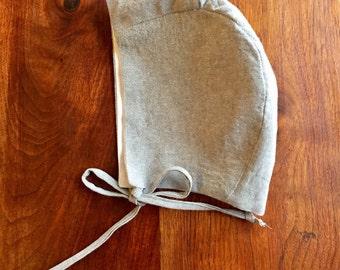 Bonnet - Gray Linen