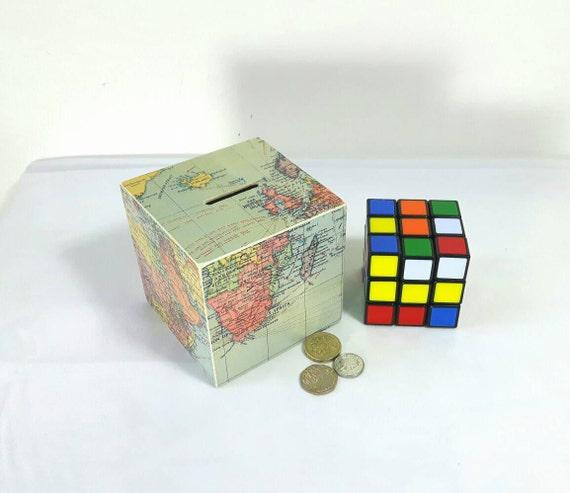 Travel money box adventure fund piggy bank travel gift by for Travel fund piggy bank