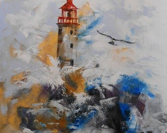 "Painting ""The Lighthouse"""