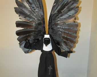 the conjurer taxidermy crow. Free shipping