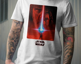 The Last Jedi Poster Tshirt